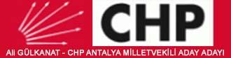 Ali Gülkanat CHP ANTALYA Milletvekili Aday Adayı